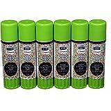 Laser Sharp Paste-It Glue Sticks 15gm Pack of 6 - LaserSharp Paste-It Premium Quality Eco-Friendly GlueSticks 15 Grams for School Colleges Offices Kids Craft - Pack of 6 Gluestick