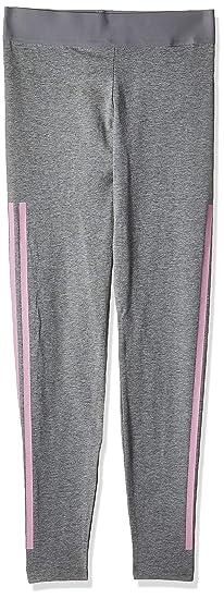 adidas 3 streifen leggings schwarz 164