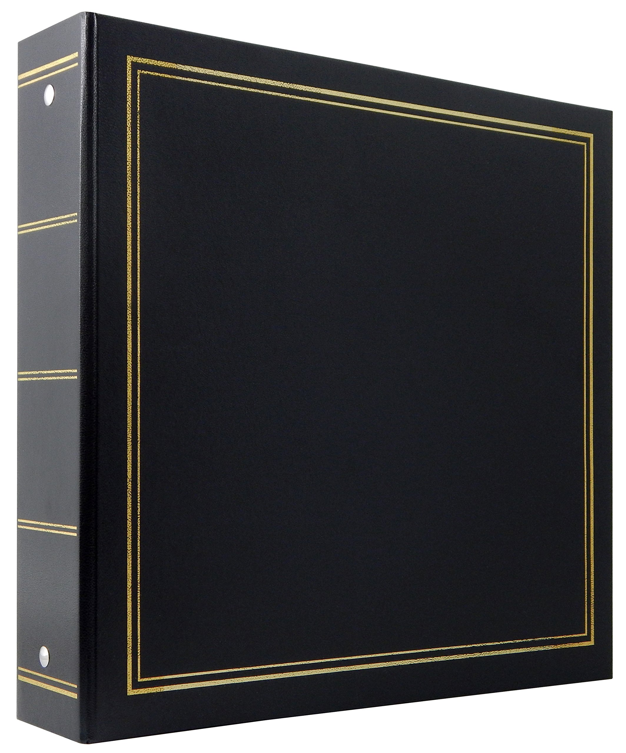 MBI 4x6 Inch Library Collection 400 Pocket Photo Album, Black (804004)