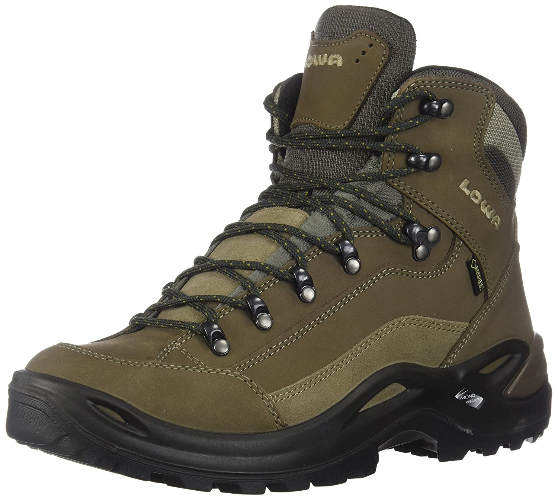 Lowa Renegade GTX Mid Ws, Women's Hiking Boots, Stone, 6 UK