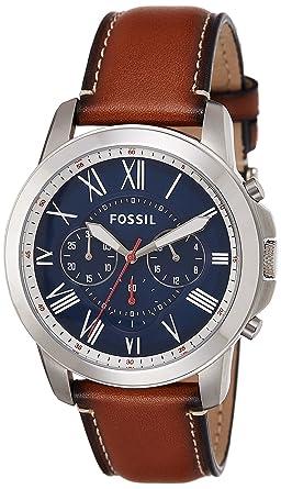 6be3a87f8344 Fósil FS5210 Reloj para Hombre  Amazon.es  Relojes