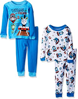 c1f0dc4a8 Amazon.com  Thomas and Friends 2 pack Blanket Sleeper Pajamas (2T ...