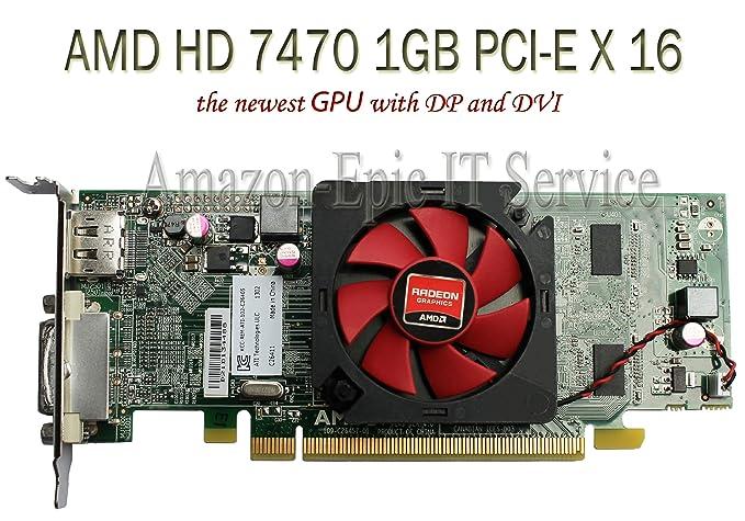 Amazon.com: AMD Radeon HD 7470 1 GB 1024 MB de tarjeta de ...