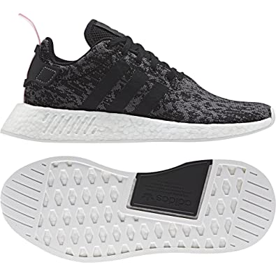 118a93752 adidas NMD R2 WMNS BY9314 CORE Black CORE Black Wonder Pink  Amazon.co.uk   Shoes   Bags
