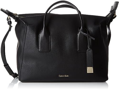 4fea1be905 Calvin Klein Downtown Duffle - Borse a secchiello Donna, Nero (Black),  17x23x33