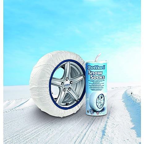Bottari 68042 Cadenas textiles para nieve, Talla 71, Compatible con ABS y ESP,
