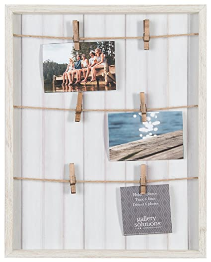 Amazon.com - Gallery Solutions 16X20 Whitewash Pallet Frame with ...