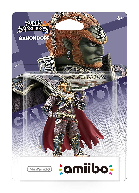 Amazon.com: Amiibo Super Smash Bros. Ganondorf Figure for ...