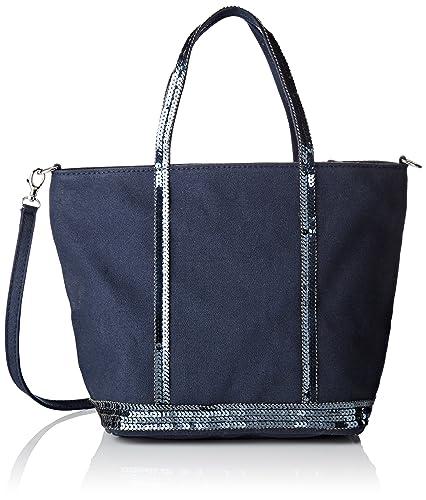 1c9a871c1a Vanessa Bruno femme Cabas Petit+b Sac bandouliere Bleu (PYRITE ...