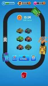 Merge Idle Tank - Best Merge Games Free from OneTap Mobile Game