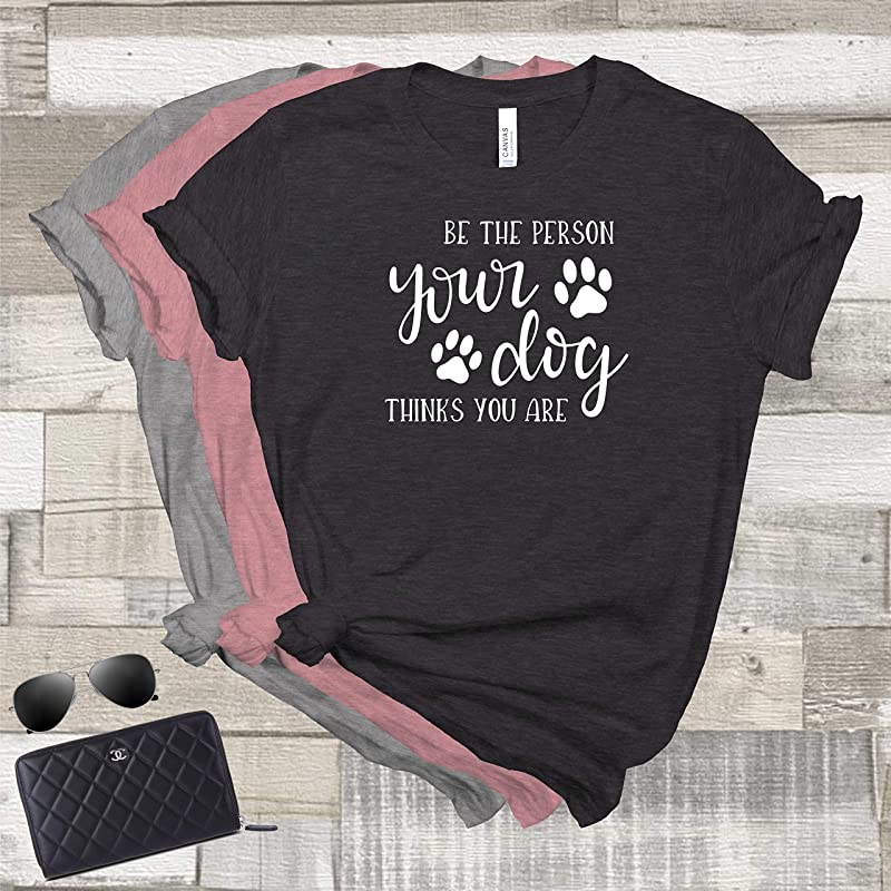 Dog Mom Shirt Dog Lover T-Shirt Fur Mother Tee Fur Parent Shirts Dog Owner T Shirt Paw Lover Shirt You Me And The Dog Dog Mama TShirt
