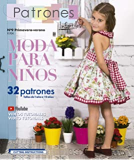 3ced02a6c Revista Patrones Infantiles nº9 Moda Primavera-verano