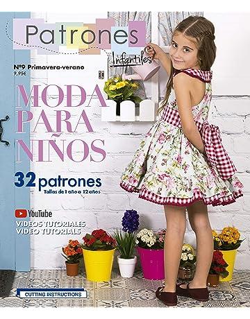 202fca44b3 Revista Patrones Infantiles nº9 Moda Primavera-verano