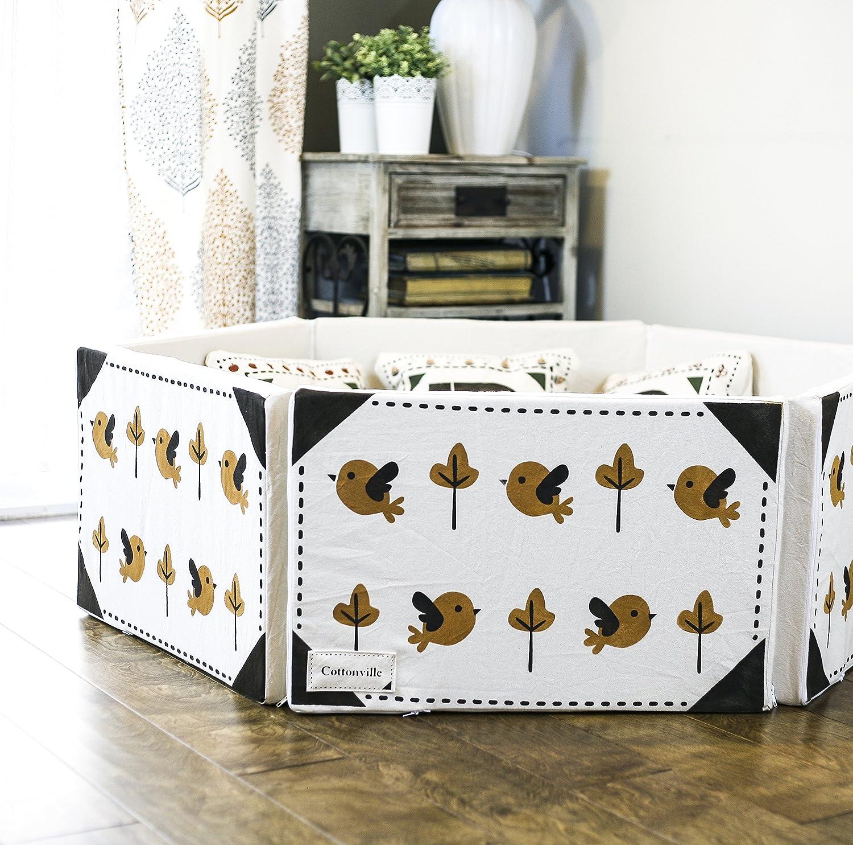 Amazon.com : Hexcloud Mini Foldable Baby Playpen Playard Crib Sofa For  Babies And Kids : Baby