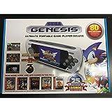 SEGA Genesis - Ultimate Portable Game Player Deluxe 80 Built-in Games New 2016