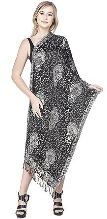 SKAVIJ Bufanda de Moda para Mujer Chal de Paisley Suave para Vestidos de Noche Abrigo Suave: Amazon.es: Ropa y accesorios