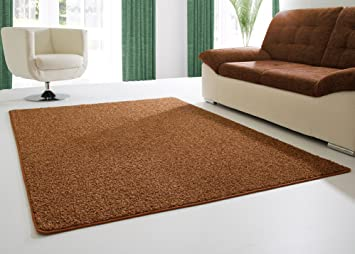 Shaggy Hochflor Langflor Teppich Fleetwood Für Wohnzimmer, Esszimmer In  Braun, Größe: 200x300 Cm