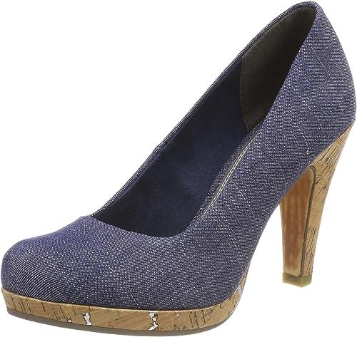 Seno primavera Confronto  MARCO TOZZI 22450, Scarpe con Tacco Donna, Blu (Jeans Comb), 37 EU:  Amazon.it: Scarpe e borse