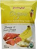 Organic Baked Dog Treats - Banana & Sweet Potato - 14oz