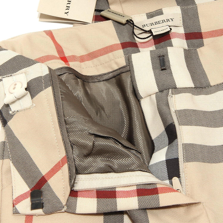 3425H pantaloni bimba BURBERRY check pantalone trousers pants kids [8 ANNI]: Amazon.es: Ropa y accesorios