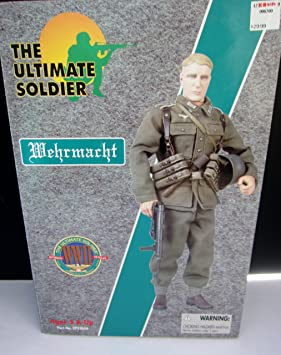 1//6 1:6 Dress 21st Century Toys WWII US Uniform The Ultimate Soldier Figure #A