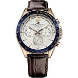 Tommy Hilfiger Men 1791118 Year-Round Analog Quartz Brown Watch