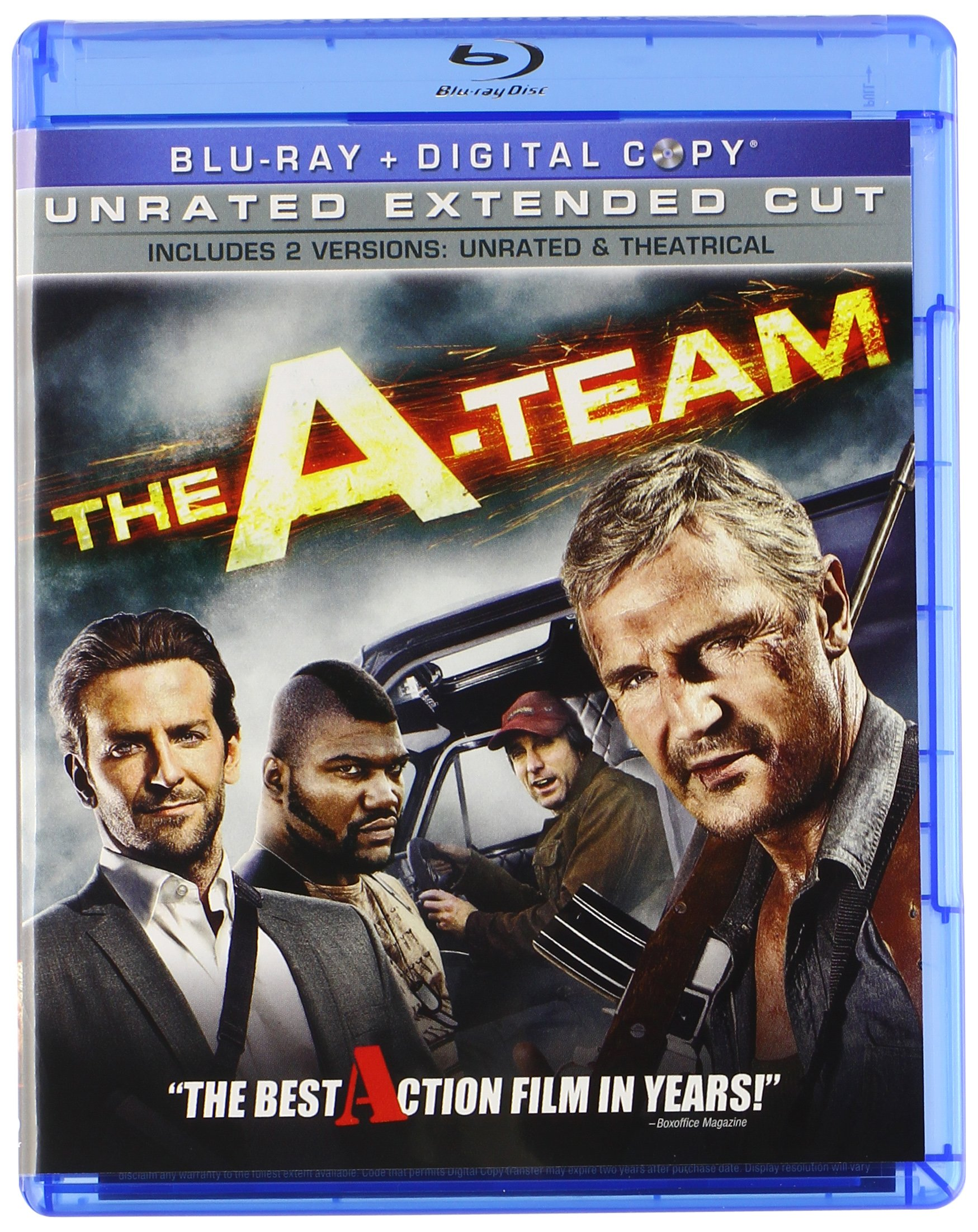 Blu-ray : The A-Team (, Dubbed, Dolby, AC-3, Digital Theater System)