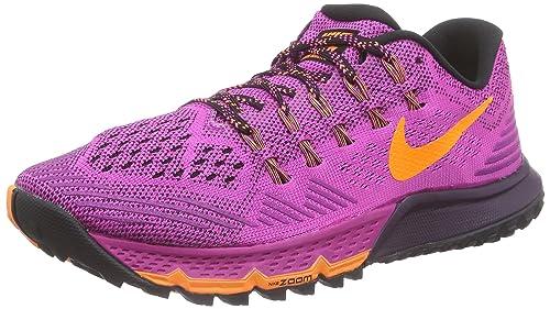 low priced 37adf cf018 Nike Women s Air Zoom Terra Kiger 3 Running Shoes Pink Size  4 UK