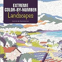 Extreme Color-by-Number: Landscapes
