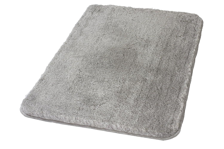 Kleine Wolke 5405189360 Badteppich Relax 60 x 100 cm grau: Amazon ...