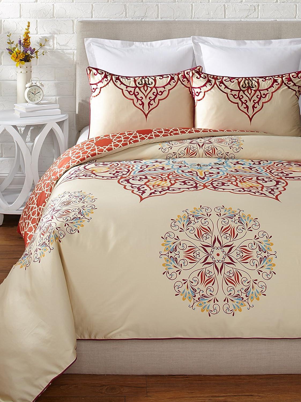 Amazon.com: Blissliving Home Unisex Chanda Duvet Set King Multi: Home U0026  Kitchen