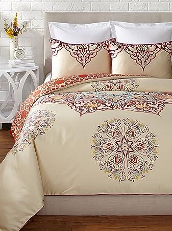 Blissliving Home Unisex Chanda Duvet Set King Multi