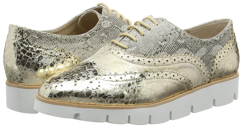 Natural Line Zapatillas de Mujer de Piel de Cordero - Ante, Color Marrón, Talla 36/37