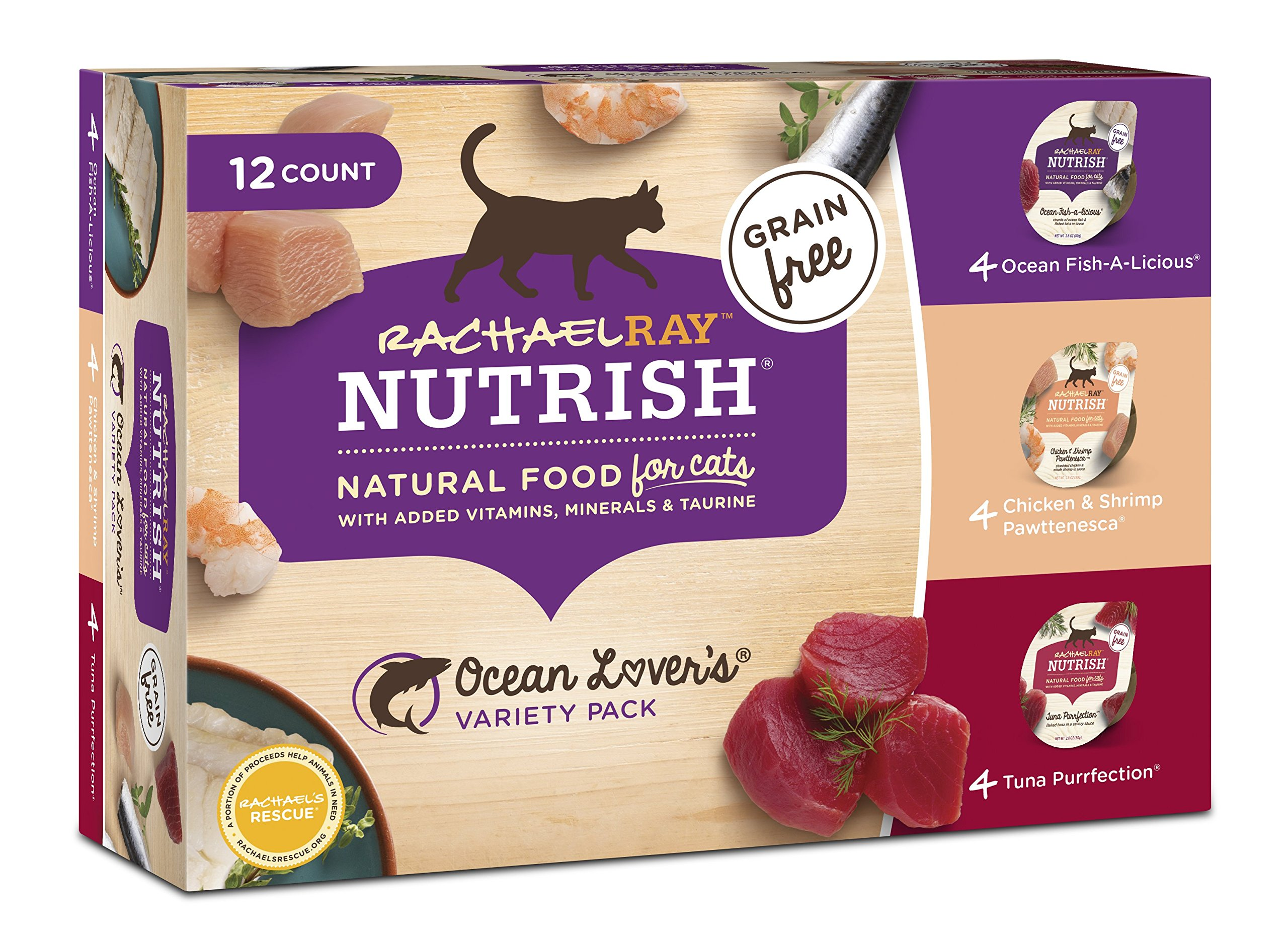 Rachael Ray Nutrish Wet Cat Food Kain Lapp