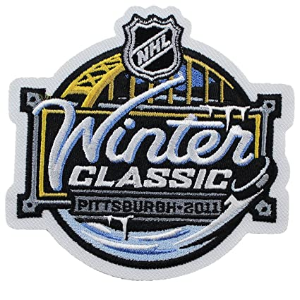 best website b8f5d 5411c 2011 NHL Winter Classic Jersey Patch Pittsburgh Penguins Washington Capitals