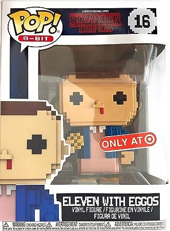 Figura Pop 8 bit Stranger Things Eleven Exclusive: Amazon.es ...