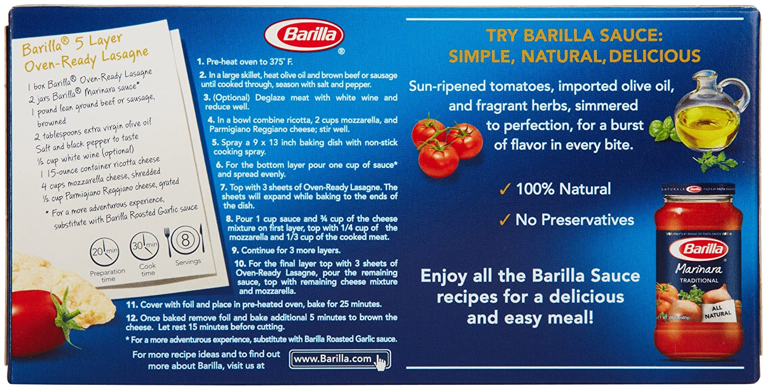 barilla spa questions Barilla pasta can make any meal that much tastier discover dinner recipes, different pastas, sauces and more at barillacom for all of your family dinner needs.