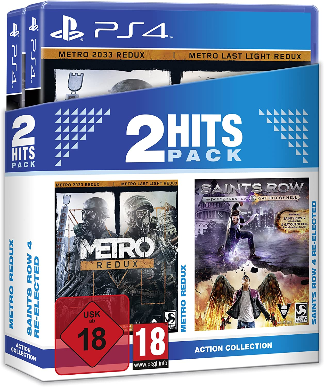 2 Hits Pack Metro Redux und Saints Row 4 Re-Elected - PlayStation 4 [Importación alemana]: Amazon.es: Videojuegos