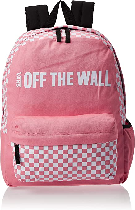 | Vans Off the Wall Realm Pink White Checkerboard