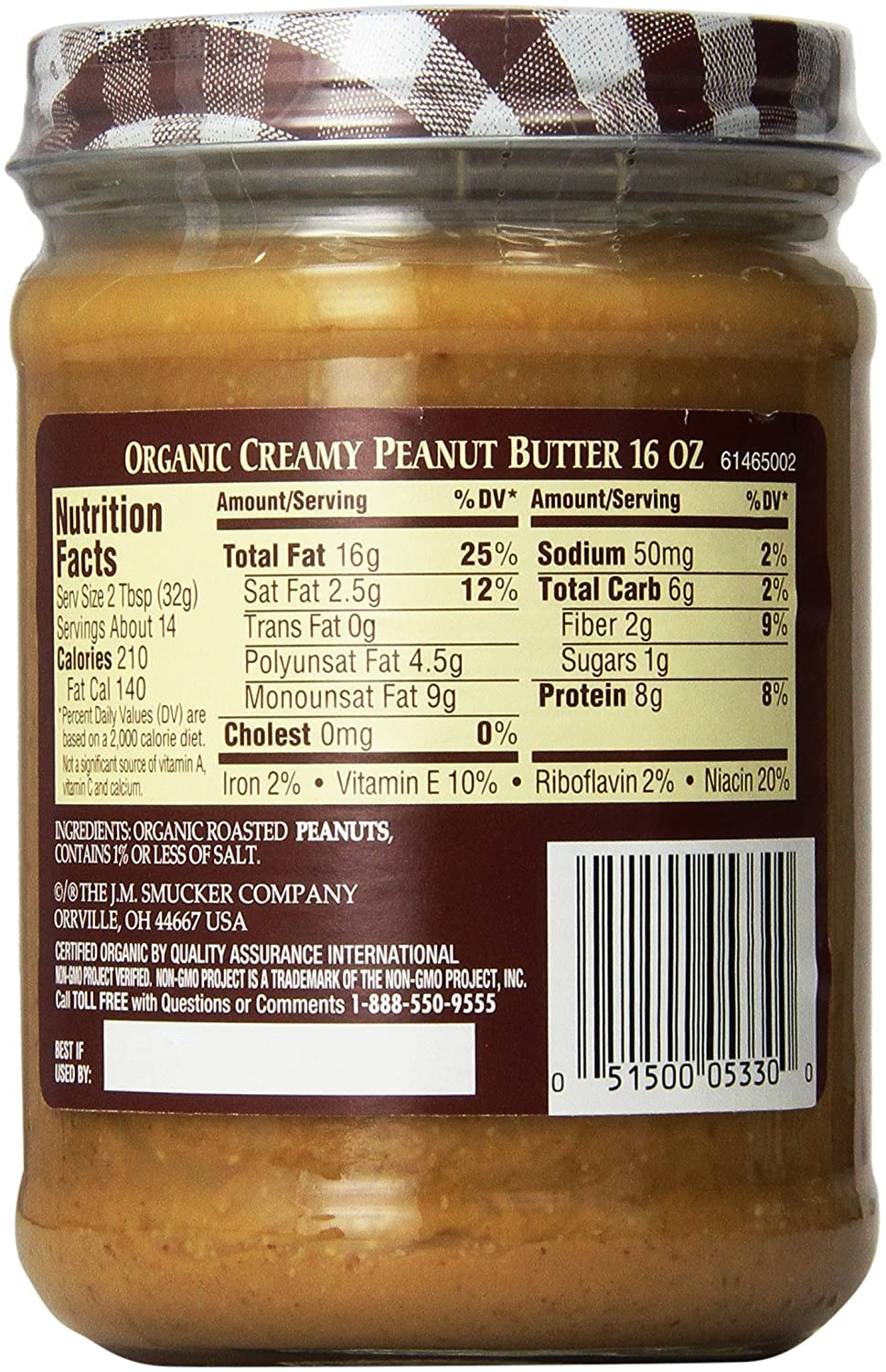 Peanuts Vs Natural Peanut Butter