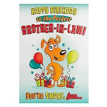 Amazon.com: Feliz Cumpleaños a la perfecta Brother – en ...