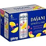 Dasani Sparkling Drinking Water, Raspberry Lemonade, 8 Count