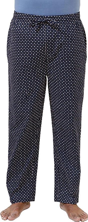 Mens Pajama Pants Purple Neat Classic Fit Size XL Lounge Sleep Soft