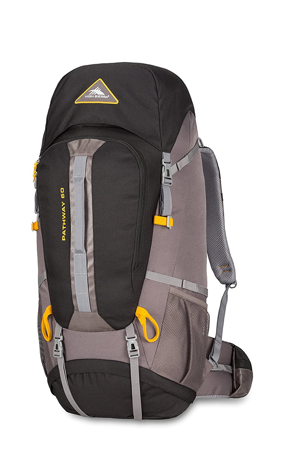 High Sierra 79548-5745 Pathway 60 l Frame Daypack, Black/State/Gold, Checked - Large Samsonite Corporation - CA