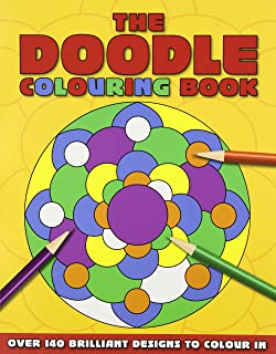 The Doodle Coloring Book Colouring