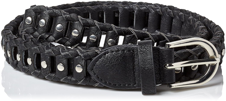 Morgan 181-3CHENI.A Ceinture (Noir) 95 (Taille Fabricant: T2) Lot de Cinturón, Mujer
