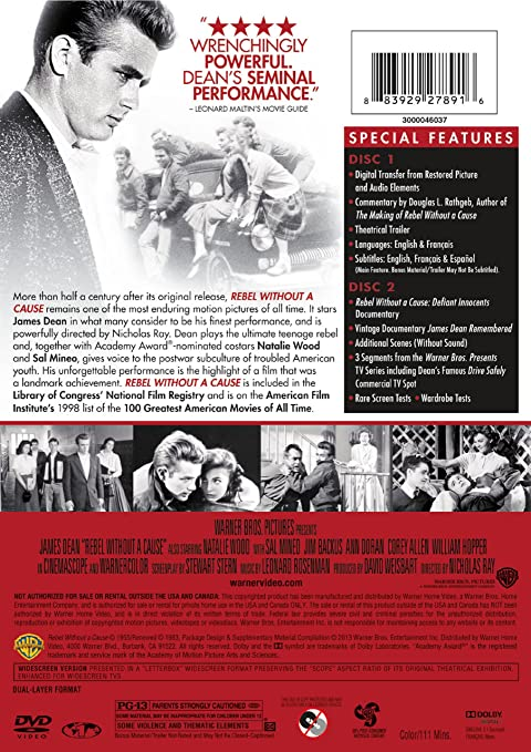 Amazon Rebel Without A Cause Special Edition Various Movies Tv