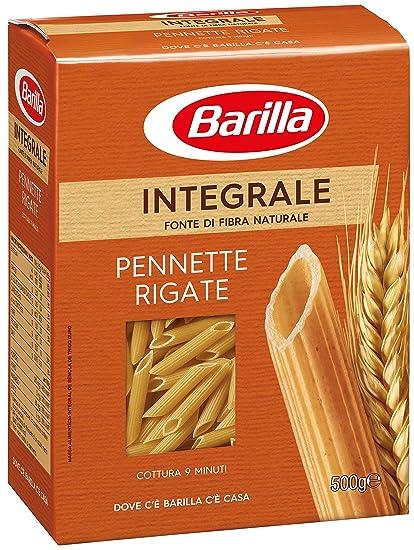 pasta integrale  Barilla Pasta Integrale Pennette Rigate Semola Integrale di Grano ...