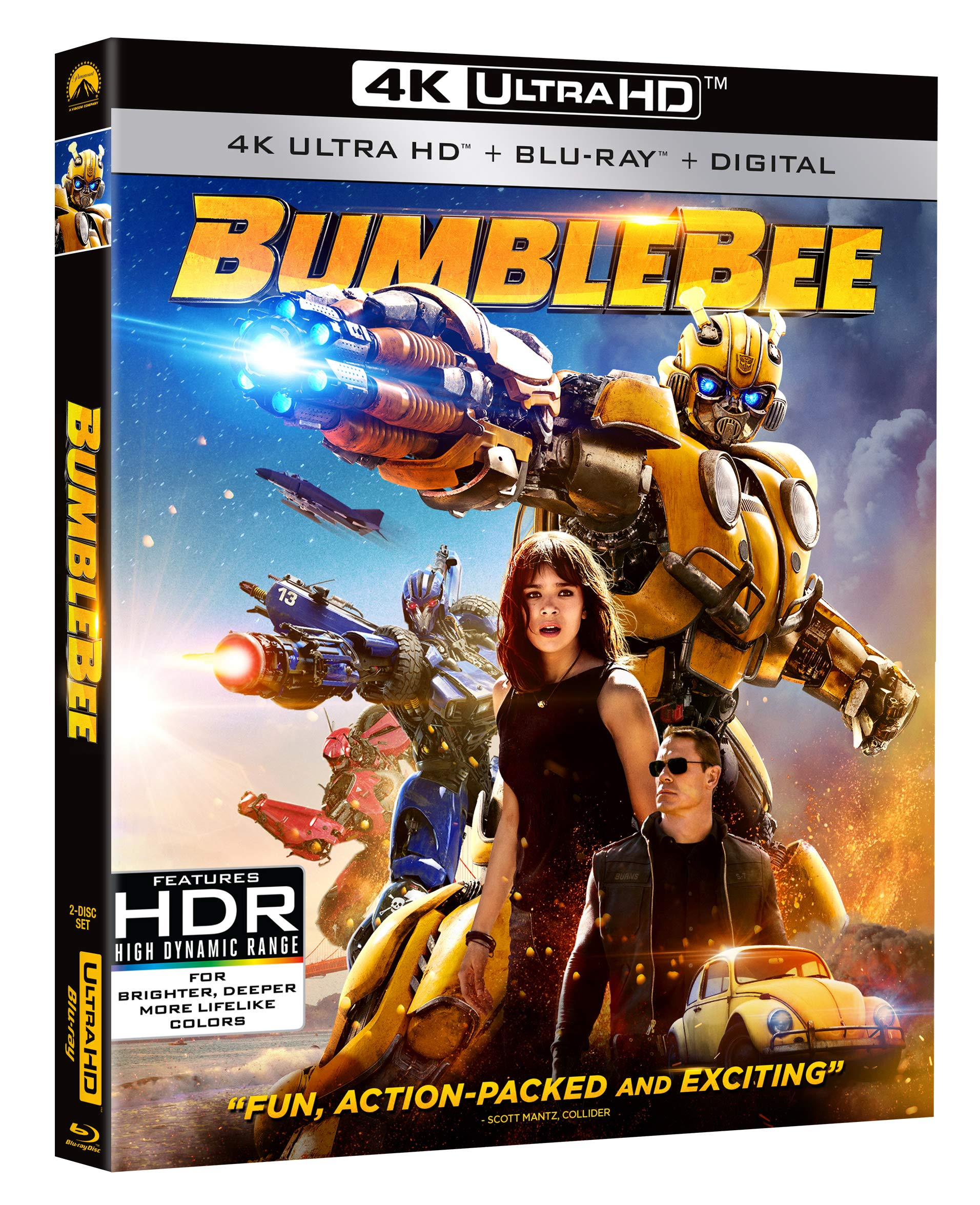 4K Blu-ray : Bumblebee (With Blu-ray, 4K Mastering)