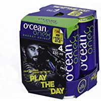 Ocean One8 Energy Drink, Classic, 4 X 330ml